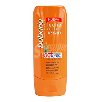 Babaria Leche solar piel sensible FP 50 + after sun 150 ml. 1 ud