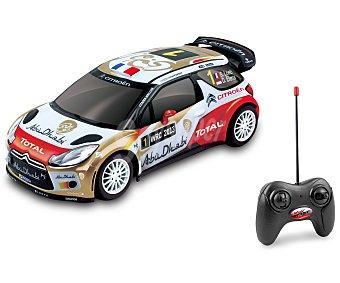 Maxx lane Coche Radiocontrol Escala 1:16, Modelo Citroen DS3 WRC 1 Unidad