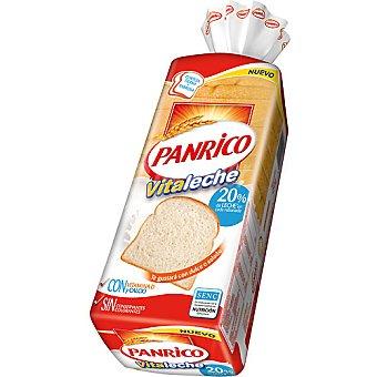 Panrico 20% de leche en cada rebanada con vitamina D y calcio Vitaleche bolsa 450 g