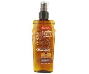 BABARIA Aceite solar chocolate, seco 200ml