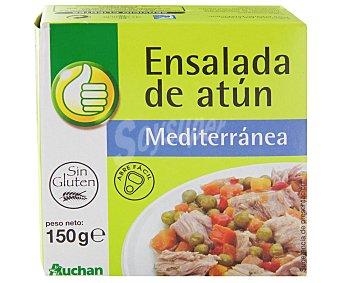 Productos Económicos Alcampo Ensalada de Atún Mediterránea 150 Gramos