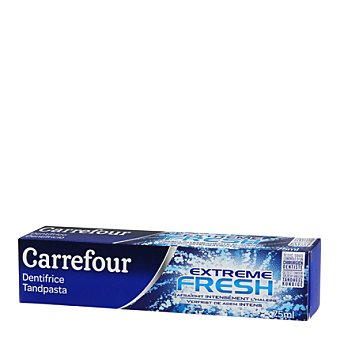 Carrefour Dentifrico Extreme Fresh 75 ml