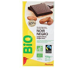 Auchan Bio Chocolate Negro 85% Bio Origen Perú 100g