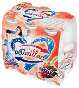 Millac Actmillac fresa Pack de 6x105 g