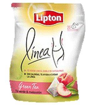 Lipton Te Lipton linea melocotón 20 pirámides 20 ud
