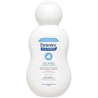 Denenes Gel de Baño Hidratante para Pieles Secas y Atópicas 500 ml