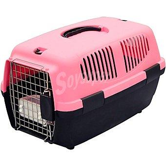 Arppe Trasportín para mascotas pequeñas modelo Clark color rosa medidas 46x31x28 cm 1 unidad