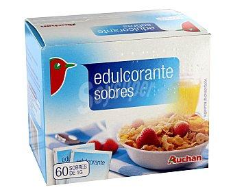 Auchan Edulcorante en Sobres 60 Sobres de 1 Gramo