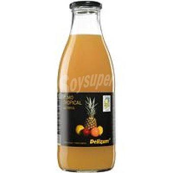 Delizum Zumo tropical ecológico Botella 1 litro
