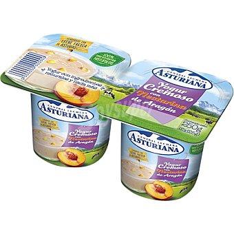 Central Lechera Asturiana Yogur cremoso con nectarina de Aragón pack 2 unidades 125 g Pack 2 unidades 125 g