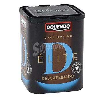 OQUENDO Café descafeinado molido paquete 250 g