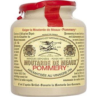 Pommery Mostaza de Meaux aromatizada con vinagre fino Tarro 500 g