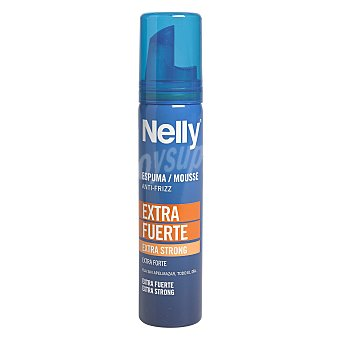 Nelly Espuma extrafuerte para viaje 75 ml