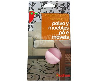 Auchan Bayeta Microfibras Polvo Y Muebles 1 Unidad