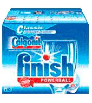 FINISH CALGONIT Detergente Lavavajillas Classic 40 ud