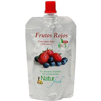 NATUR FRESH Frutos rojos fruta para beber 100% natural sin azúcares añadidos ecológico Envase 100 g