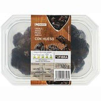 Eroski Ciruelas con hueso Tarrina 320 g