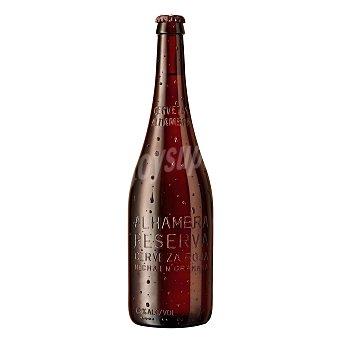 Alhambra Cerveza roja Botella 70 cl