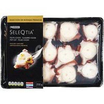 Eroski Seleqtia Pulpo cocido troceado Bandeja 200 g