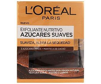 L'Oréal Mascarilla exfoliante y nutritiva con azúcares finos 50 ml