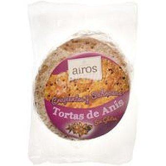 Airos Torta de anís sin gluten Paquete 210 g