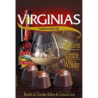 Virginias Bombón relleno de crema al whisky estuche 150 g Estuche 150 g