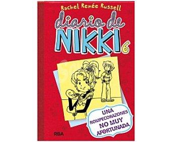 MOLINO Diario de Nikki 6: Una Rompecorazones no muy Afortunada, rachel renne rusell Género: Infantil, Editorial