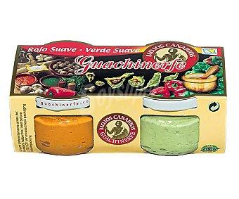 Guachinerfe Mojo rojo y verde suave 240 g