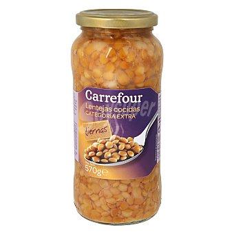 Carrefour Lentejas cocidas extra 400 g