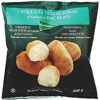 El Corte Inglés Croqueta tradicional de estofado de bacalao 500 g 500 g