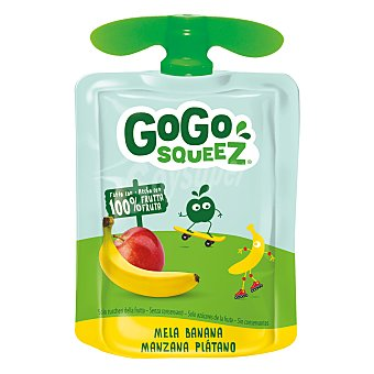 Gogo Squeez Manzana y plátano pouch 90 gr 90 gr