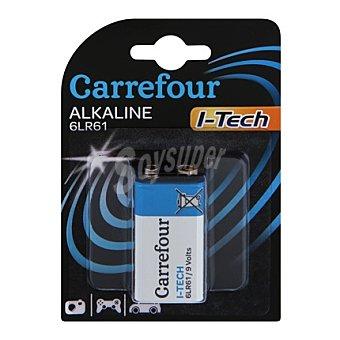 Carrefour Pilas 6LR61 i-tech 1 ud