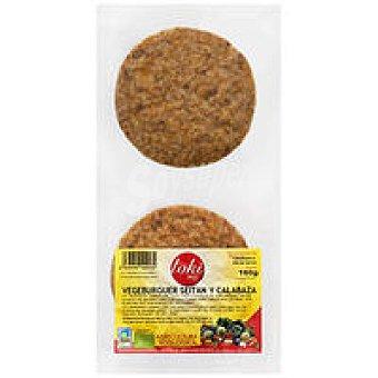 Toki Eco Vegeburger seitan-calabaza Bandeja 160 g