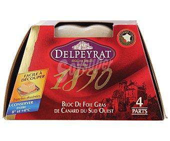 Delpeyrat Bloque de Foie Gras de Pato 160 Gramos