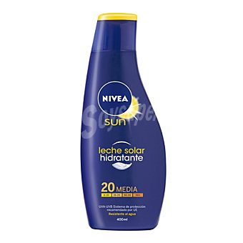 Nivea Leche solar hidratante FP 20 Protección media 400 ml