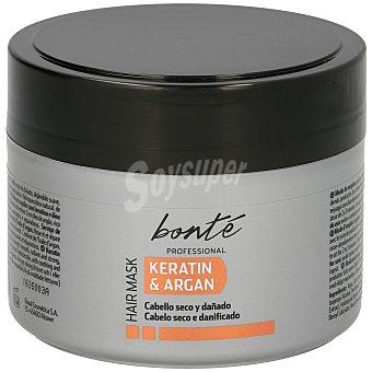 Bonté Mascarilla capilar keratin&argan cabello seco y dañado Tarro 300 ml