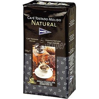 Hipercor Café natural molido de Colombia Paquete 250 g