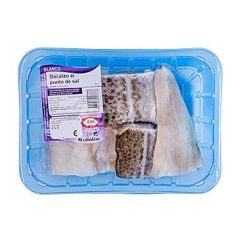 Caladero Bacalao descongelado al punto de sal filetes Unidad 400 gr