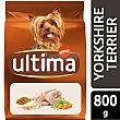 Alimento para perros mini yorkshire terrier con pollo Bolsa 800 gr Ultima Affinity