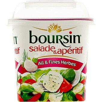 Boursin Queso en dados con ajo y finas hierbas Tarrina 120 g