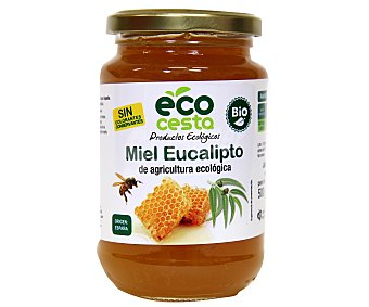 Ecocesta Miel de eucalipto de agricultura ecológica 500 gramos
