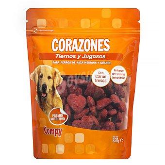 Compy Comida perro corazon adulto Paquete 350 g