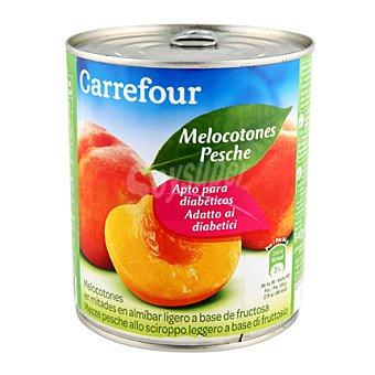 Carrefour Melocotón en almíbar extra Diet 480 g