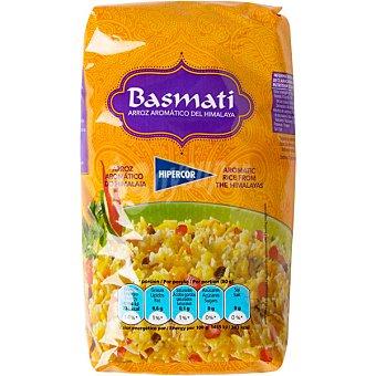 Hipercor Arroz basmati aromático del Himalaya paquete 1 kg Paquete 1 kg