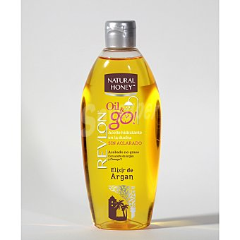 Natural Honey Aceite corporal elixir de Argan con Omega 3 6 y 9 frasco 300 ml 9 frasco 300 ml
