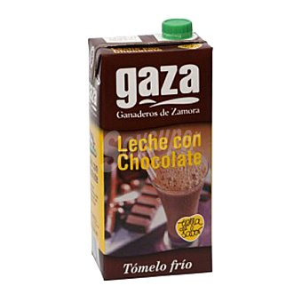 Gaza Leche con chocolate Brik 1 litro