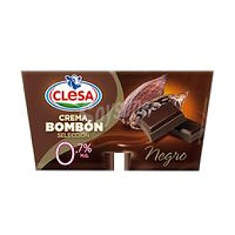 Crema bombón chocolate negro 0 Pack 4x125 g