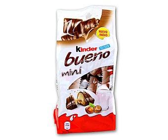 Kinder Bueno Mini barritas rellenas de leche y avellanas recubiertas de chocolate con leche  Estuche 108 g