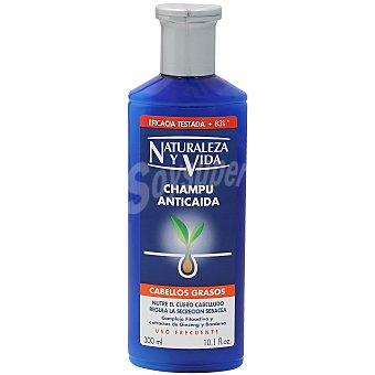 Naturaleza y Vida Champú anticaída para cabello graso Bote 300 ml