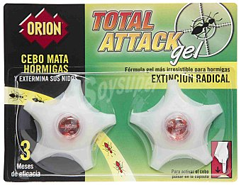 Orion Orion Total Attack Cebo Mata Hormigas Gel 2 ud